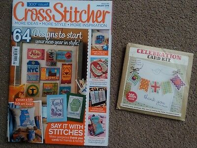 CROSS STITCHER MAGAZINE, ISSUE 301 February 2016