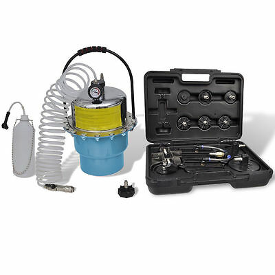 Portable Pneumatic Air Pressure Kit Clutch Brake Bleeder Set Valve System Kit