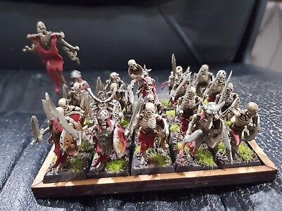 age of sigmar warhammer vampire counts skeletons 20