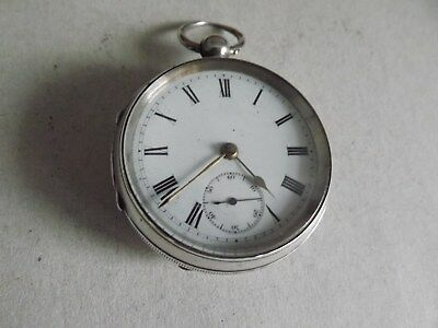 Victorian Silver Cased Pocket Watch (Chester 1900).