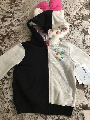 Nwt Toddler Girl My Little Pony Hooded Sweater Size 5T