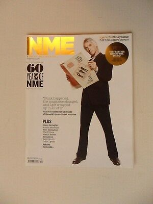 Paul Weller NME 60 Years Collectors Cover