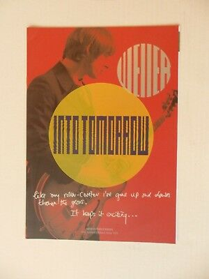 Paul Weller - 8 page brochure for Genesis book Into Tomorrow