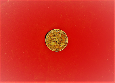 1858 Flying Eagle Cent,160 Years Old Rare,high Grade Vf ++,you May Find Ef