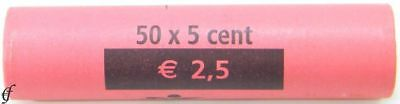 Luxemburg Rolle 5 Cent 2002