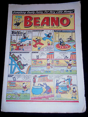 The Beano 1953 August 29th No 580 Dandy Beano Interest Roger the Dodger