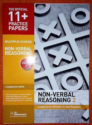 GL Assessment 11+ Official Practice Papers - Non Verbal Reasoning NVR Pack 2