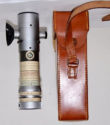 SEI Exposure Meter Made In England in Leather Case Looks GREAT