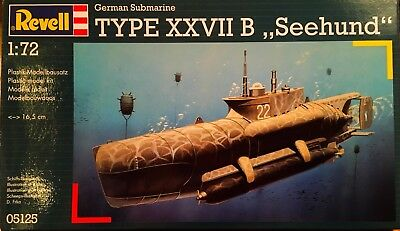 "Revell 1/72 German Submarine TYPE XXVII B ""SEEHUND"""