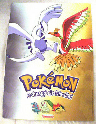 Pokemon Poster in A3