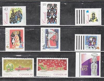 Canada Booklet Stamps - Christmas 9