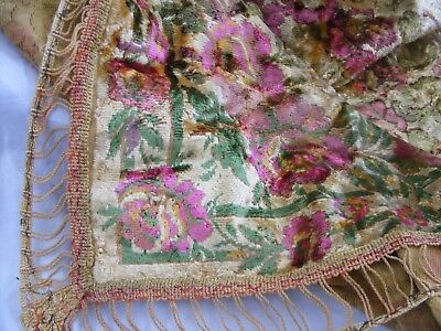 Vintage. Silk & Cotton Indian Table Cover.