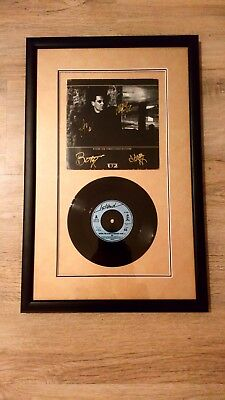 U2 RARE Fully Signed Where The Streets Have No Name Record. Joshua Tree FRAMED
