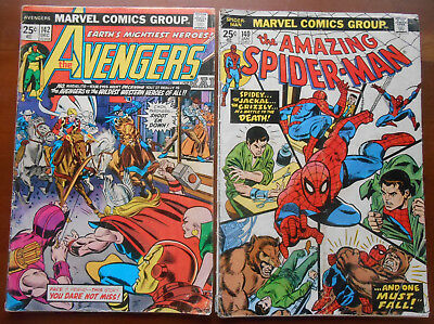 Marvel Mixed Bronze Age comic book lot of 5 low grade