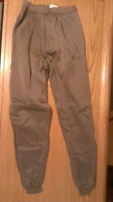 3 MILITARY POLYPROPYLENE Long Johns Underwear Size Small  NEW Extreme Cold