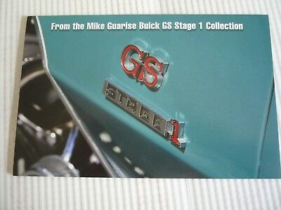 Buick GS455 Stage 1 Collection - Mecum catalog- 4 cars, photos