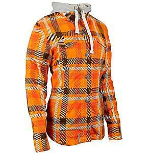 Speed & Strength Romance Womens Long Sleeve Armored Shirt Orange
