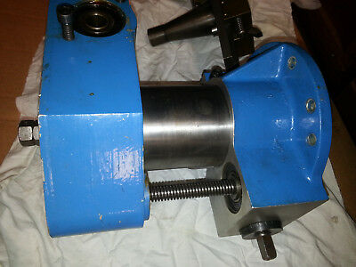 """FF1000 Climax Flange Facing Machine. 4"""" spindle, 4"""" stroke, 40 taper spindle."""