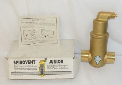 Spirotherm VJS125TM Spirovent Junior Air Eliminator One And Quarter Inch Sweat