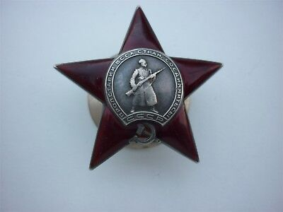 Roter Stern Nr : 145712 ,  Orden des ROTEN STERNS ,  Order of the Red Star,