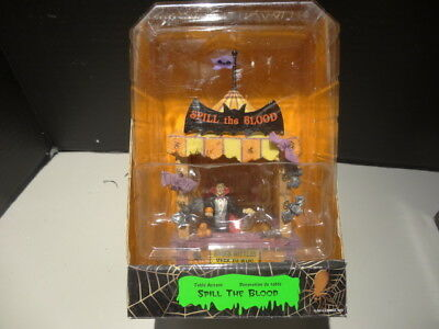 Lemax Spooky Town Carnival Halloween Spill the Blood Tent