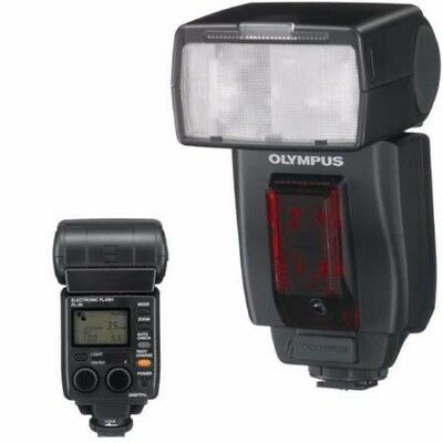Olympus FL-50R Wireless Electronic Zooming Flash with 2 Diffusers