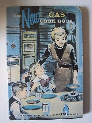 The New Gas Cookbook 1961 by Pacific, Gas & Electric