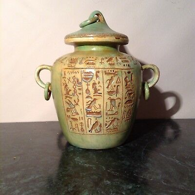 Rare Antique Ancient Egyptian  Funeral vessel for food After Death 1820-1740BC