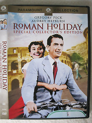 ROMAN HOLIDAY, Special Collector's Edition, Audrey Hepburn, Gregory Peck,USA DVD