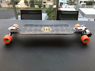 Evolve GTX Skateboard Electric AT and Road wheels - almost new