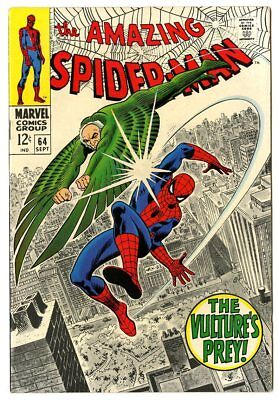 Amazing Spider-Man #64 NM- 9.2 white pages  The Vulture  Marvel 1968  No Reserve