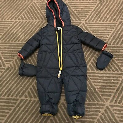 Baby Ted Baker Boys Snowsuit 3-6 Months