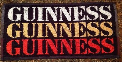 Vintage Guinness Beer Bar Pub Towel NOS (new old stock)