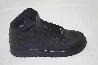 hot sale online fab94 86711 Big Kid s Nike Air Force 1 Mid Top (Gs) 314195-003 Black