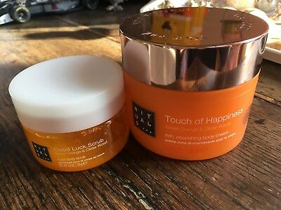 RITUALS Gommage corps + Crème riche corps Touch of Happiness NEUF
