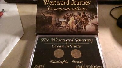 U.S.A 2005 p&d Gold Edition Westward Journey Ocean in view