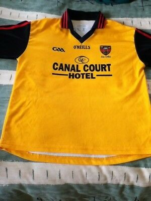 Down Gaelic Football Away Jersey 2009 to 2010 Children 10 to 11 Years Old GAA