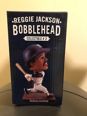 Reggie Jackson Bobblehead 2017 Yankee Stadium Collectible #2.  NIB Mr. October.