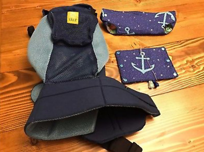 LILLEBaby Carrier 6 in 1 Position Complete All Seasons Breathable Mesh w Covers!