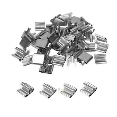 50pcs Wood Candle Wicks Base Clip for Candle Making Supplies S1#