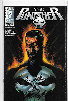 The Punisher #1 (Vol.4) Dynamic Forces Signed Variant with COA Marvel Comics NM