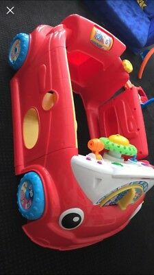 Fisher Price Laugh And Learn Red Car