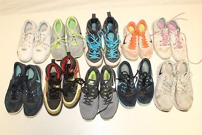 NIKE Lot Wholesale Used Shoes Rehab Resale Collection Various Sizes aSsQ