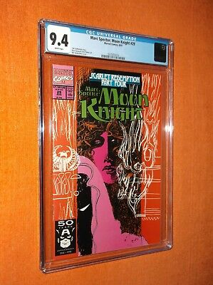 MOON KNIGHT #29 CGC 9.4 {Scarlet Redemption Pt. 4} - Nice collectible copy!!!