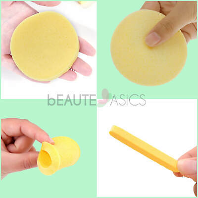 120 Pcs Facial Sponges - Compressed PVA Face Wash Cleansing Sponge (S0001x10)