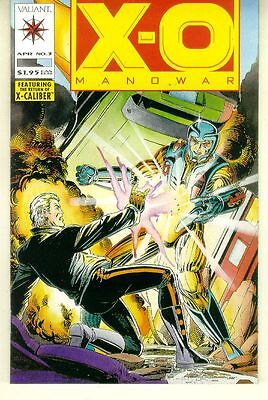 X-O Manowar #3 (Valiant, 1992) NM!
