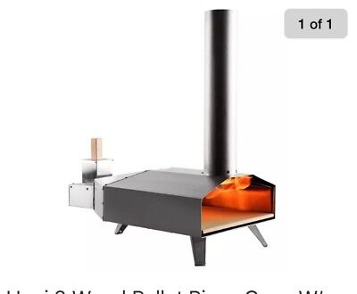 Uuni 3 Wood Pellet Pizza Oven W/ Stone & Peel, Stainless Steel (free shipping)