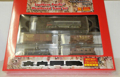 MicroTrains N Scale Southern Pacific Weathered Train Set