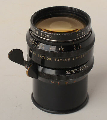 Cooke Speed panchro series II Taylor Hobson 75mm f2 T2.3 lens for 35mm Arriflex