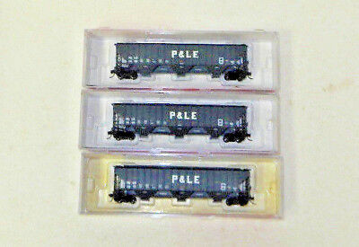 3 x InterMountain N Scale Pittsburgh & Lake Erie PS-2 Covered Hoppers